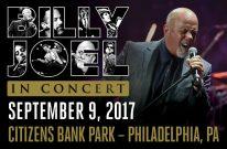 Billy Joel Concert At Citizens Bank Park Philadelphia, PA – September 9, 2017