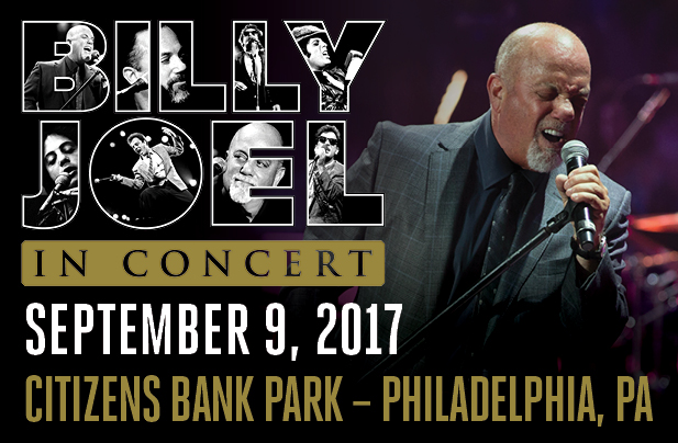 Billy Joel Citizens Bank Park Philadephia, PA September 9, 2017