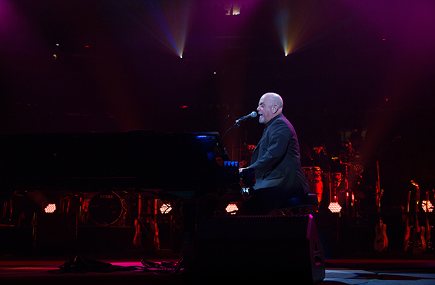 Billy Joel performs live at Madison Square Garden in New York, NY February 22, 2017