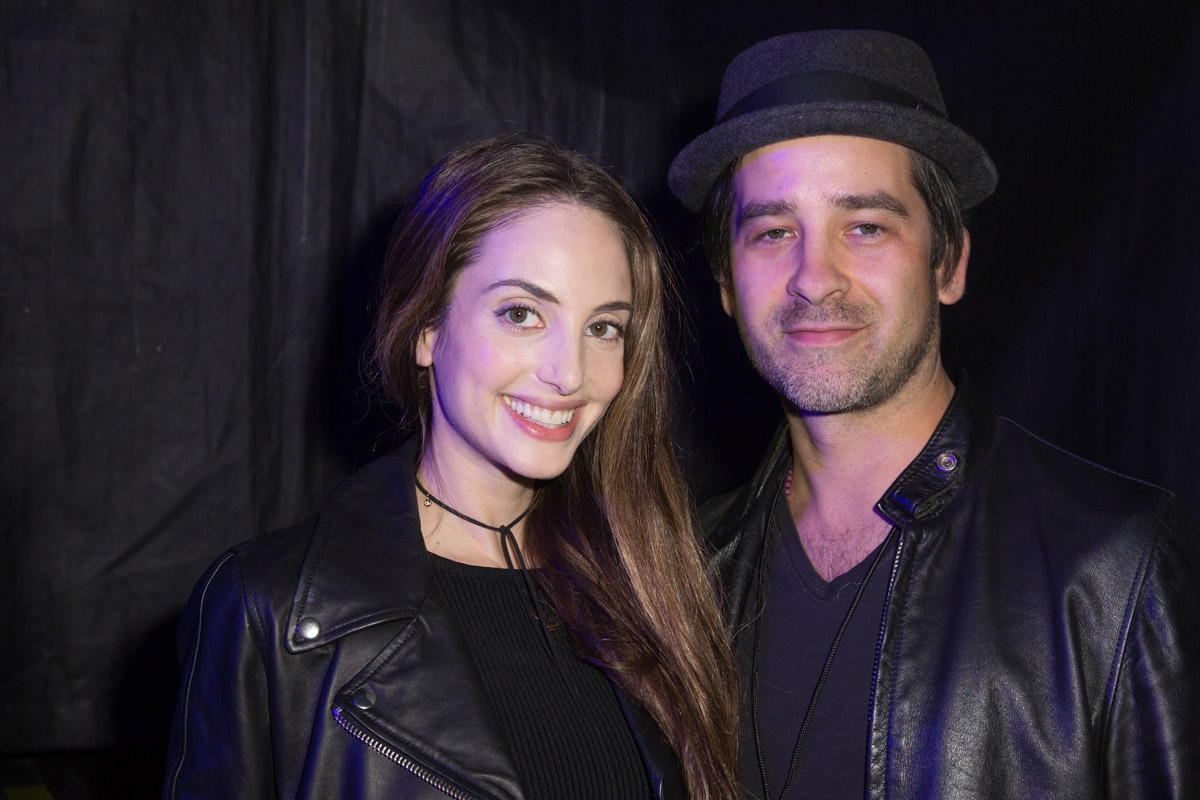 Alexa Ray Joel and Ryan Gleason backstage at Billy Joel's concert at Madison Square Garden in New York, NY, on February 22, 2017.