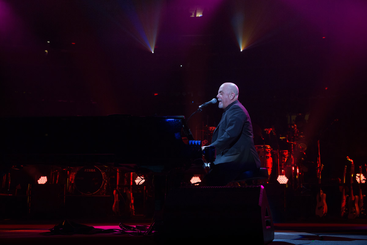 Billy Joel performs live on stage at Madison Square Garden in New York, NY, on February 22, 2017.