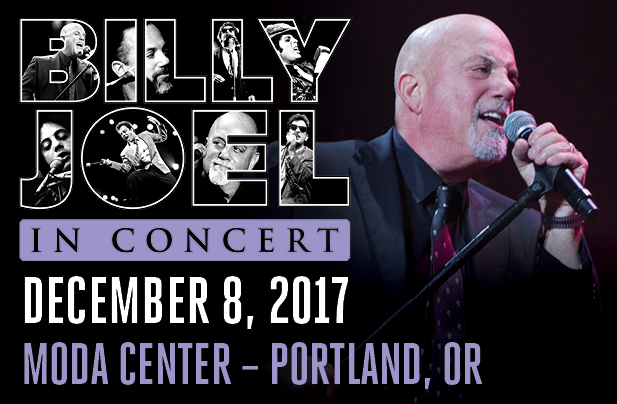 Billy Joel Moda Center Portland, OR December 8, 2017