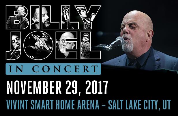 Billy Joel Vivint Smart Home Arena Salt Lake City, UT November 29, 2017