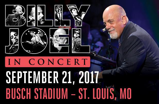 Billy Joel Busch Stadium St. Louis, MO September 21, 2017