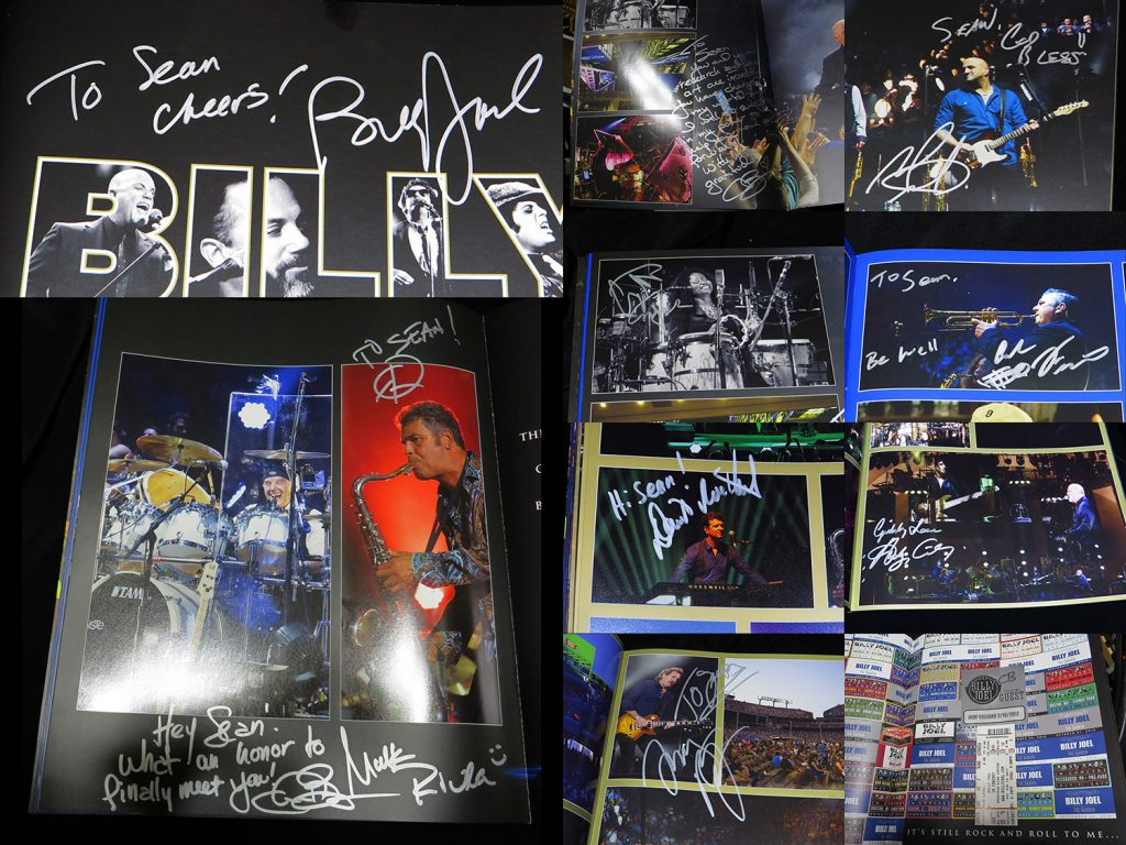 Band Signed Tour Book