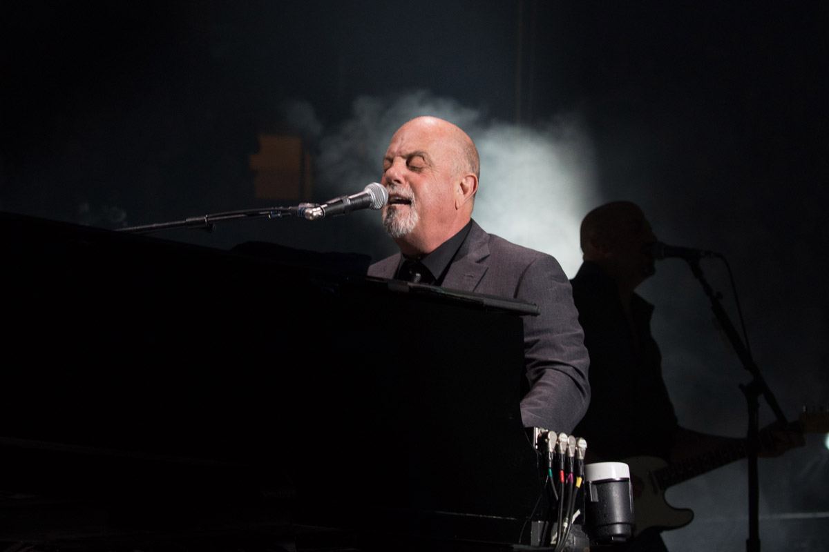 Billy Joel performs live on stage at Madison Square Garden in New York, NY, on March 3, 2017.