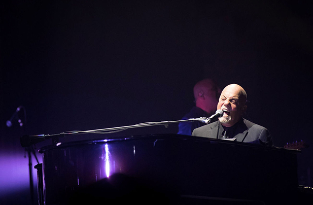 Billy Joel performs concert Pinnacle Bank Arena Lincoln, NE March 24, 2017