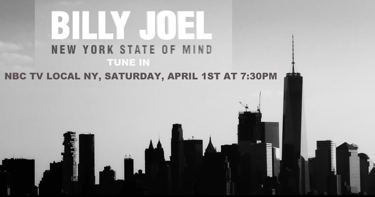 New York State Of Mind' To Re-Air On WNBC | Billy Joel ...