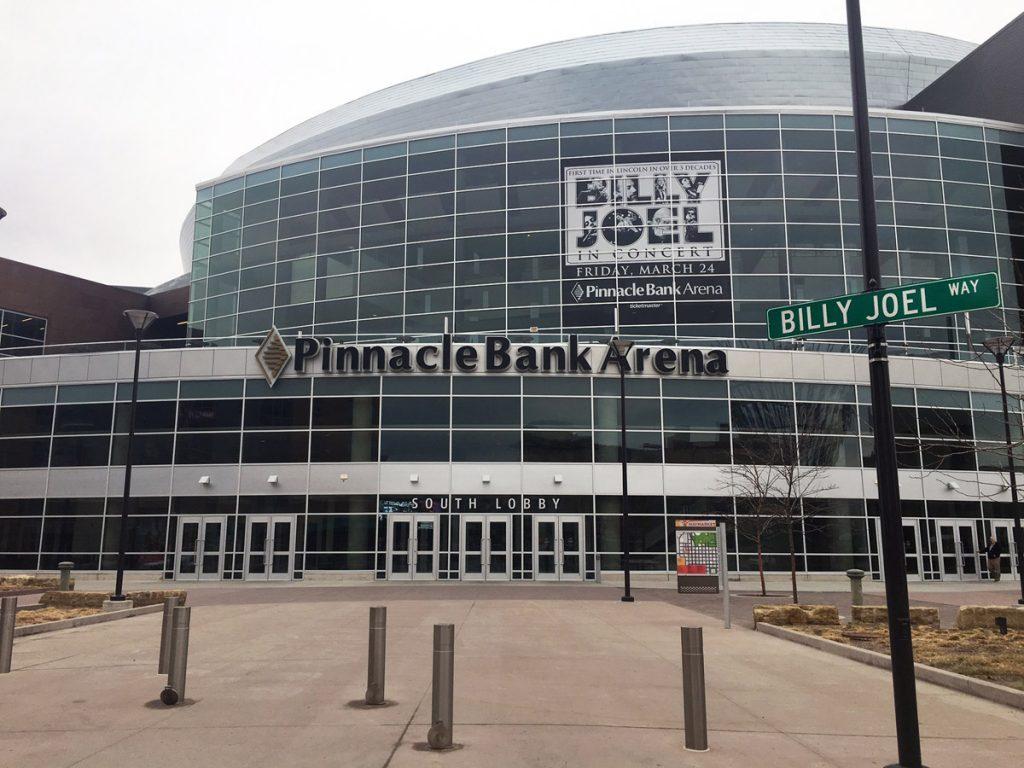 Billy Joel Way At Pinnacle Bank Arena In Lincoln, NE, March 24, 2017