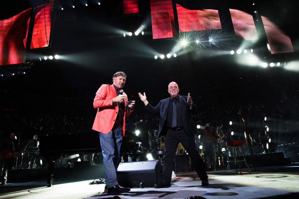 Kevin Spacey and billy Joel