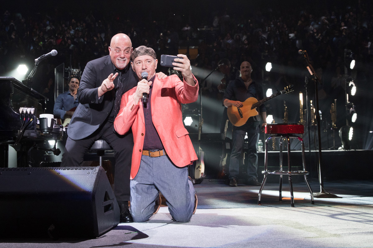 Billy Joel at Madison Square Garden in New York, NY, on April 14, 2017