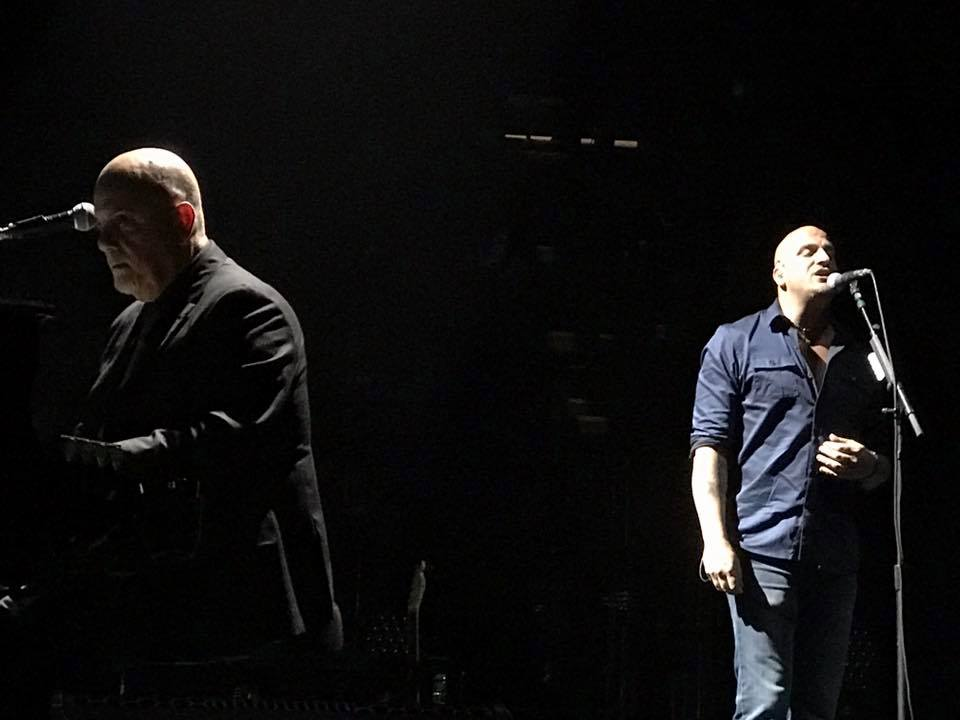 Billy Joel and Mike DelGuidice