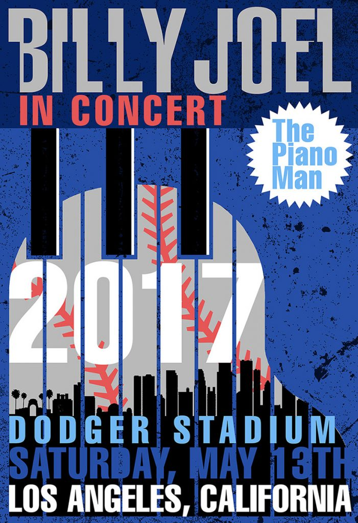 Billy Joel At Dodger Stadium Los Angeles, CA – May 13, 2017 (Photo 114)