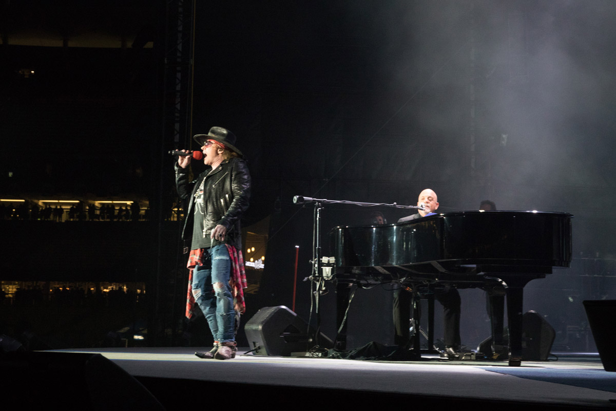 Billy Joel at Dodger Stadium in Los Angeles, CA on May 13, 2017