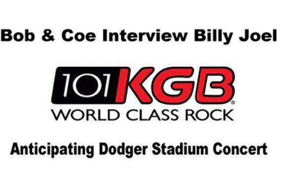 Listen: Billy Joel Interview With Bob & Coe 101KGB San Diego