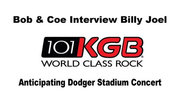 Billy Joel interview Bob & Coe Show May 2017