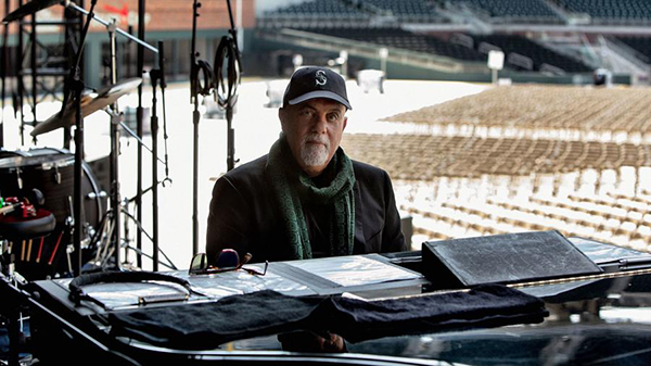 Billy Joel rehearses at Atlanta's SunTrust Park April 2017. Photo by Myrna Suarez.