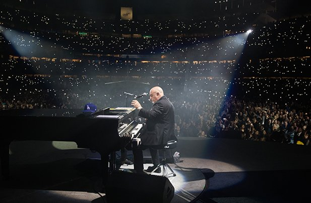Billy Joel performs live in concert at Dodger Stadium in Los Angeles, CA, May 13, 2017