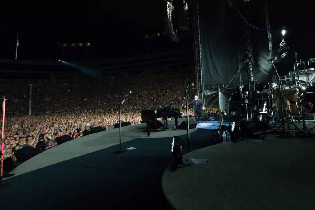 Billy Joel In Concert at Lambeau Field, Green Bay, WI, June 17th, 2017