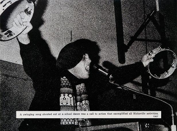 Billy Joel in Hicksville High School 1967 yearbook