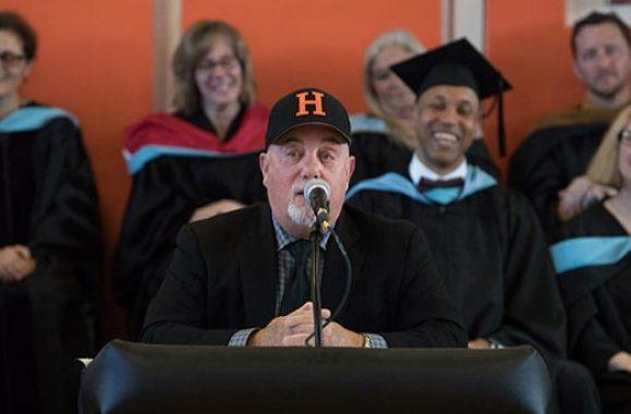 Watch Billy Joel Give A Heartfelt Speech At Hicksville Graduation