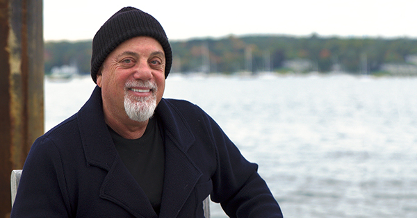 Billy Joel at Oyster Bay. Photo by Eric Gulbransen.