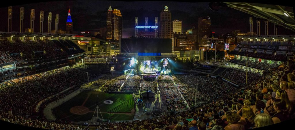 Billy Joel Live In Concert at Progressive Field, Cleveland, July 14th, 2017