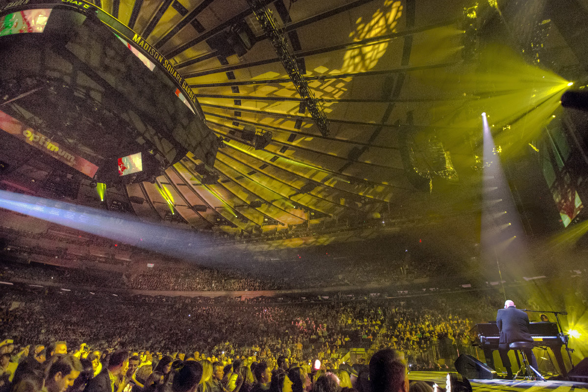 Billy Joel At Madison Square Garden New York, NY - July 5, 2017 ...
