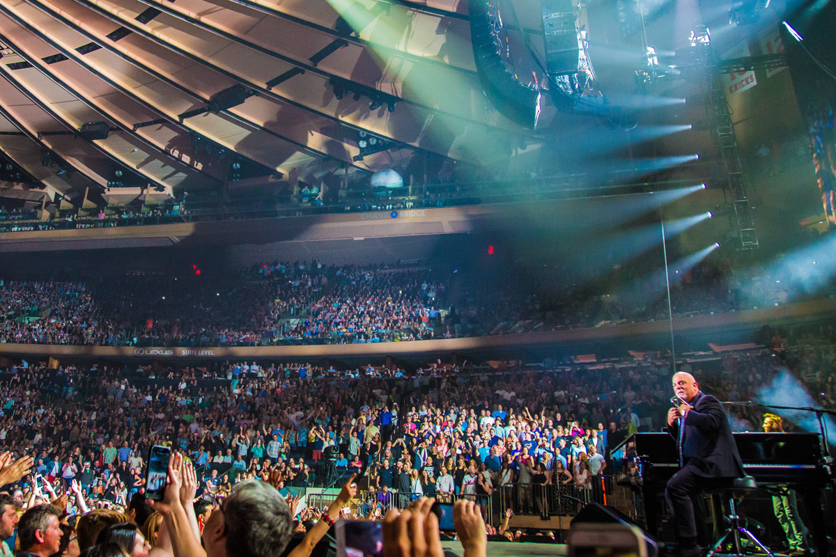 Billy Joel Performs Live Madison Square Garden In New York, NY, On July 5 Great Pictures
