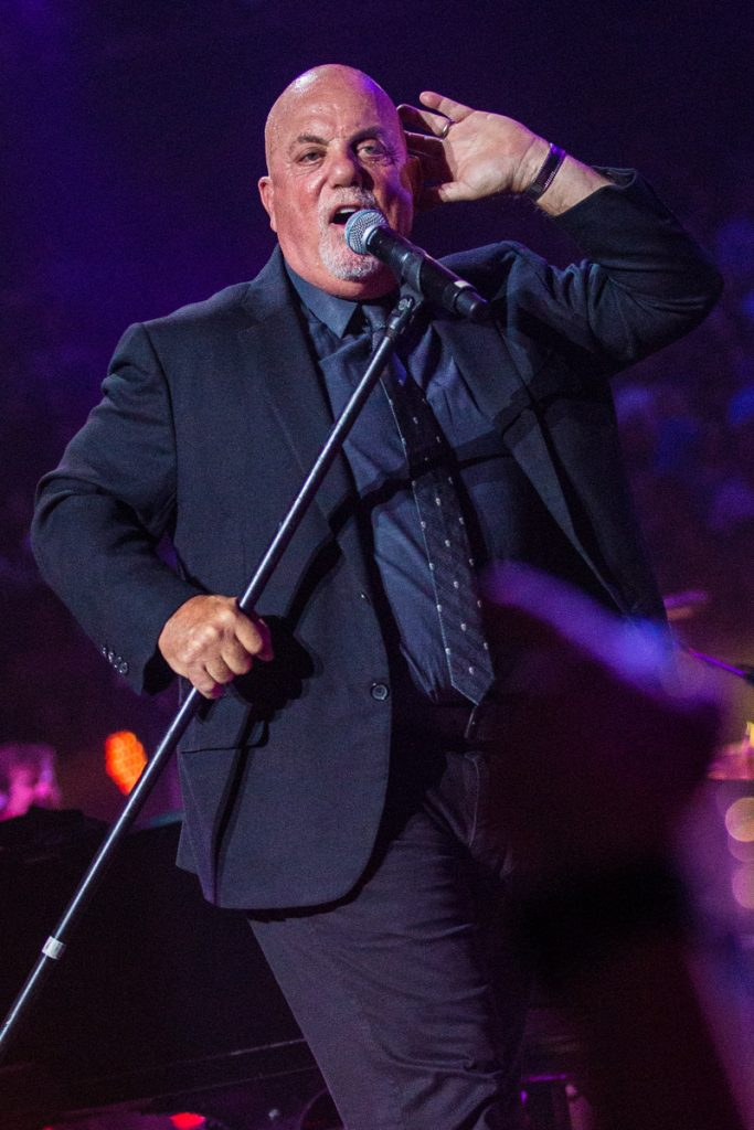Billy Joel performs on stage at Madison Square Garden, New York, July 5th, 2017