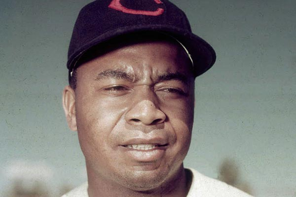 Outfielder Larry Doby