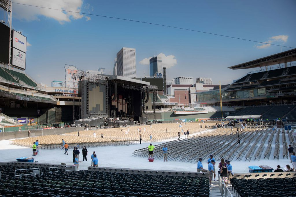 Billy Joel in Concert, Target Field, Minneapolis, MN, July 28th, 2017