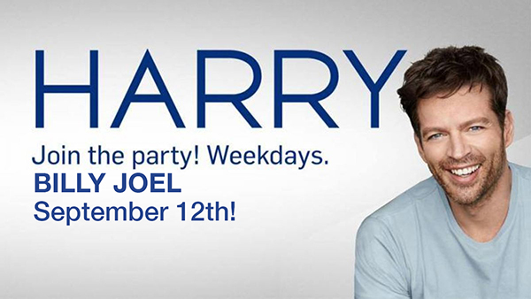 Billy Joel to appear on Harry Connick Jr. talk show September 12