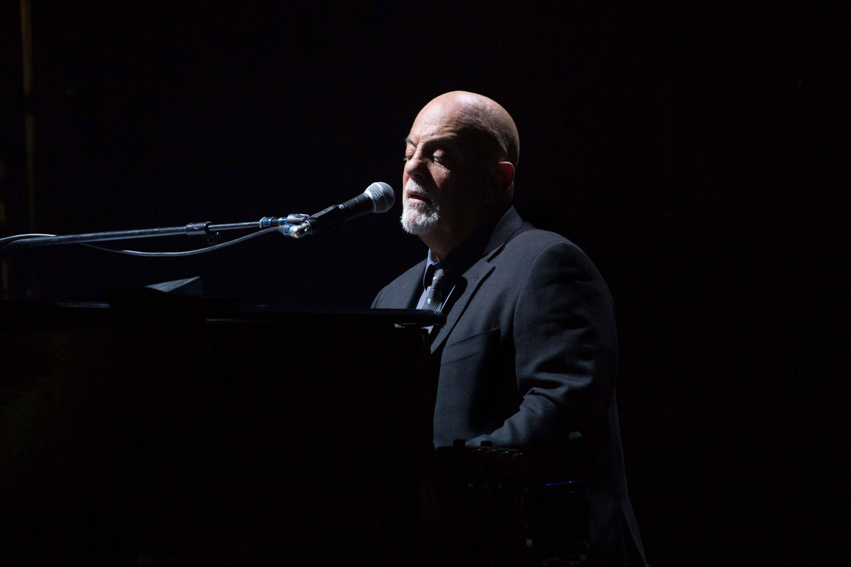 Billy Joel performs at Target Field Minneapolis, MN on July 28, 2017