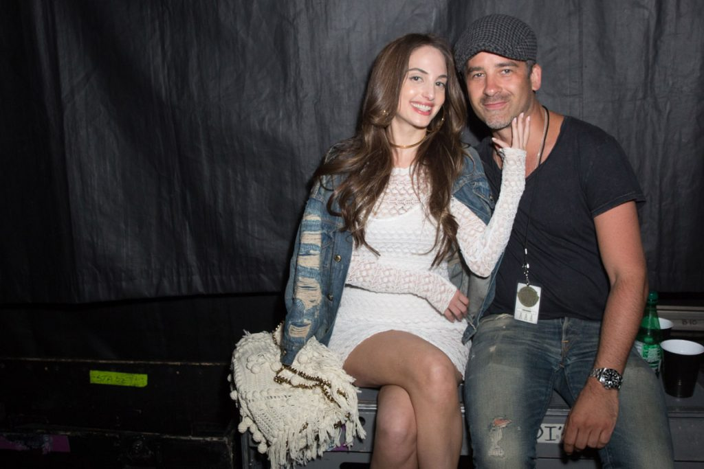 Alexa Ray Joel and Ryan Gleason at Billy Joel concert at Madison Square Garden in New York, NY, on August 21, 2017