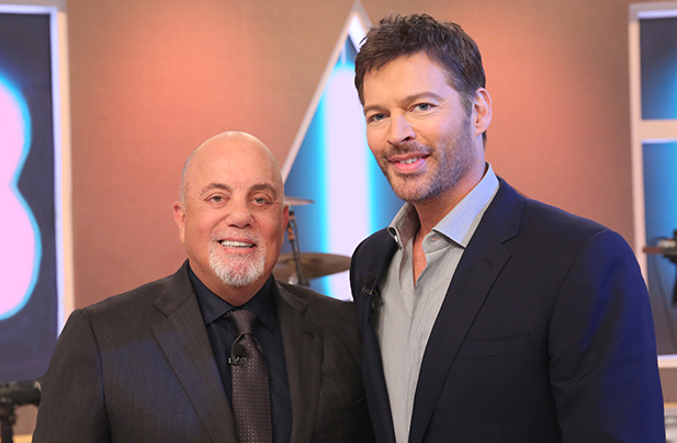 Billy Joel and Harry Connick, Jr. on Harry talk show
