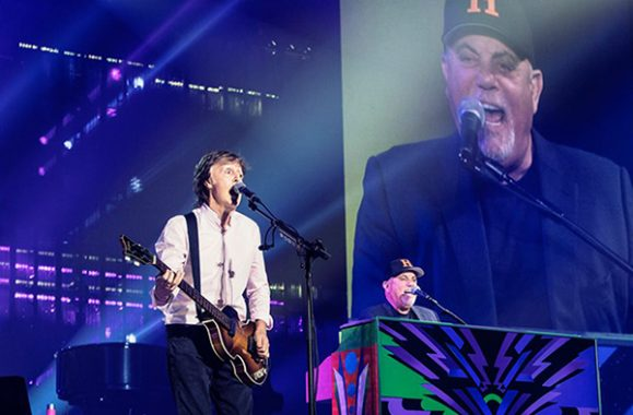 Watch Paul McCartney & Billy Joel Play The Beatles' 'Birthday' & 'Get Back'