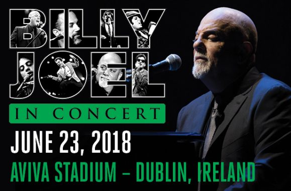 Billy Joel To Play In Dublin, Ireland June 23, 2018