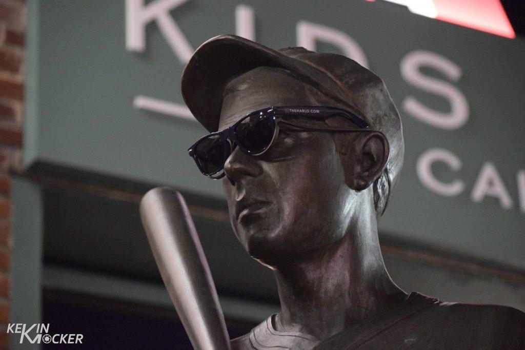Statue outside Fenway