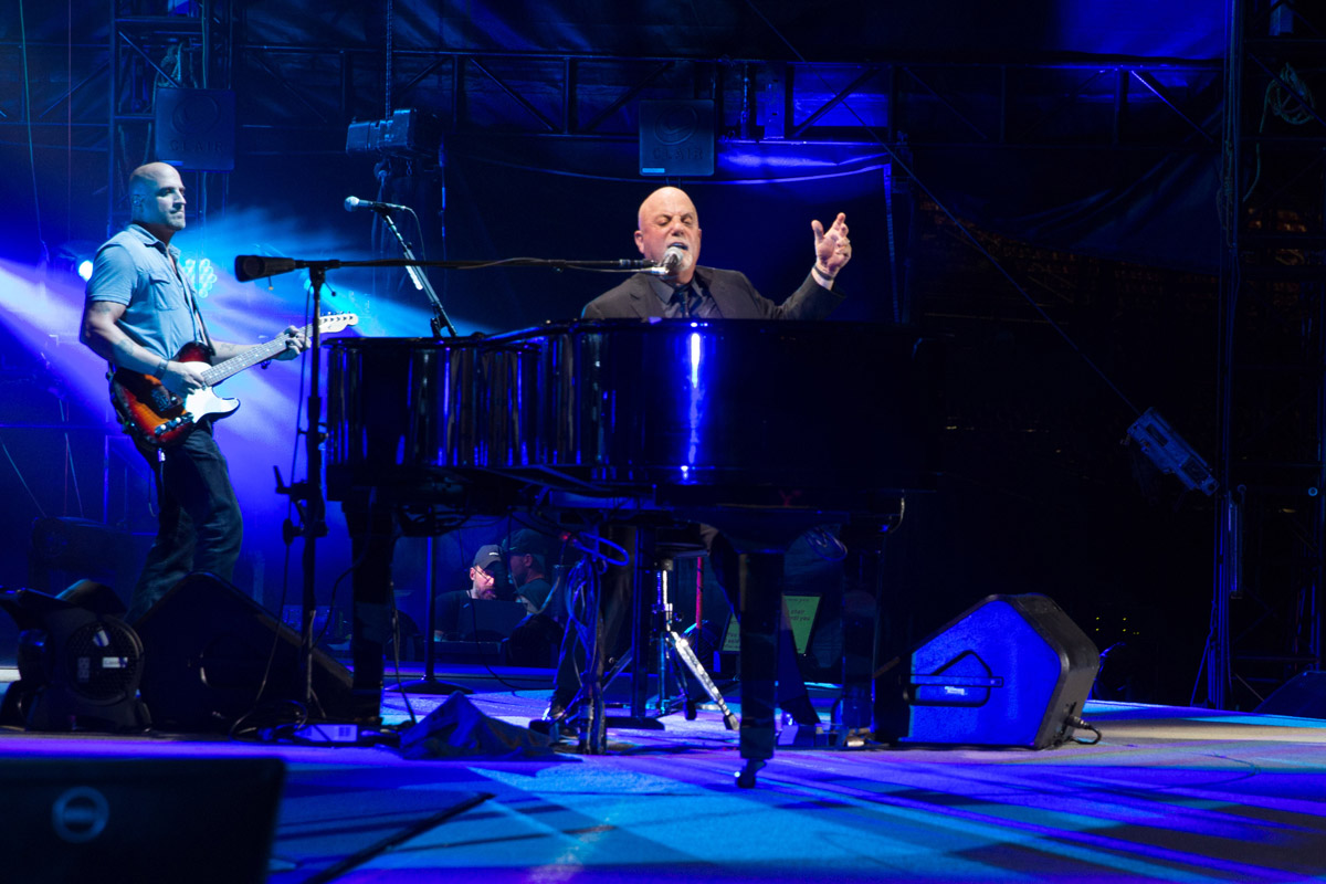Billy Joel in concert Busch Stadium St. Louis, MO, September 21, 2017.