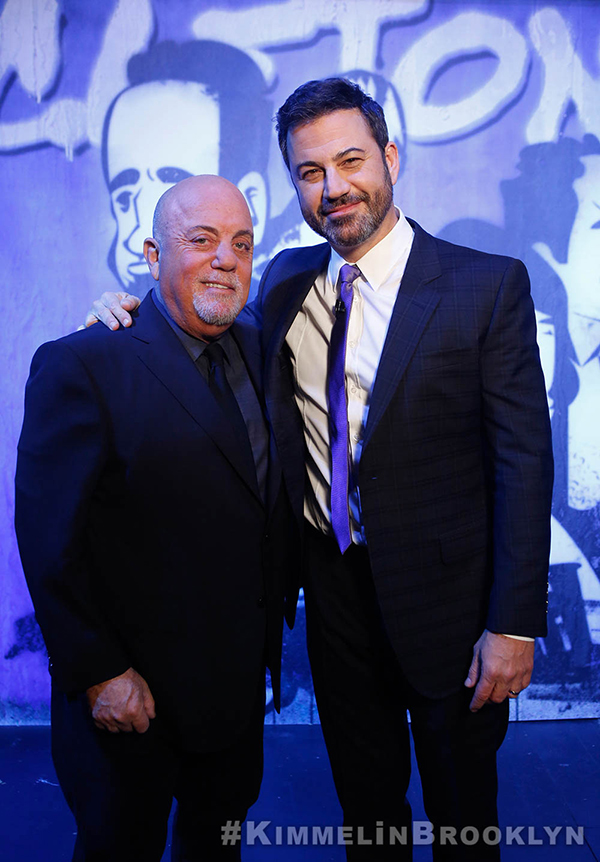 Billy Joel at Jimmy Kimmel Live! October 19, 2017
