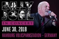 Billy Joel Concert At Hamburg Volksparkstadion – June 30, 2018