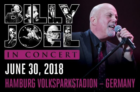 Billy Joel To Perform In Hamburg, Germany June 30, 2018