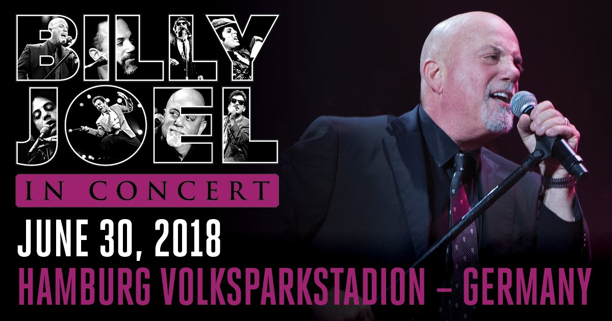 Billy Joel Tour June