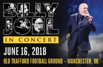 Billy Joel Concert At Old Trafford Football Ground Manchester, UK – June 16, 2018
