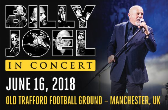 Billy Joel Announces Show in Manchester, UK For June 2018