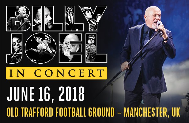 Billy Joel In Manchester, UK