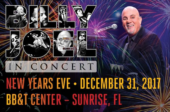 Billy Joel To Return To BB&T Center For New Year's Eve Concert