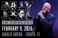 Billy Joel Concert At Amalie Arena in Tampa, FL – February 9, 2018