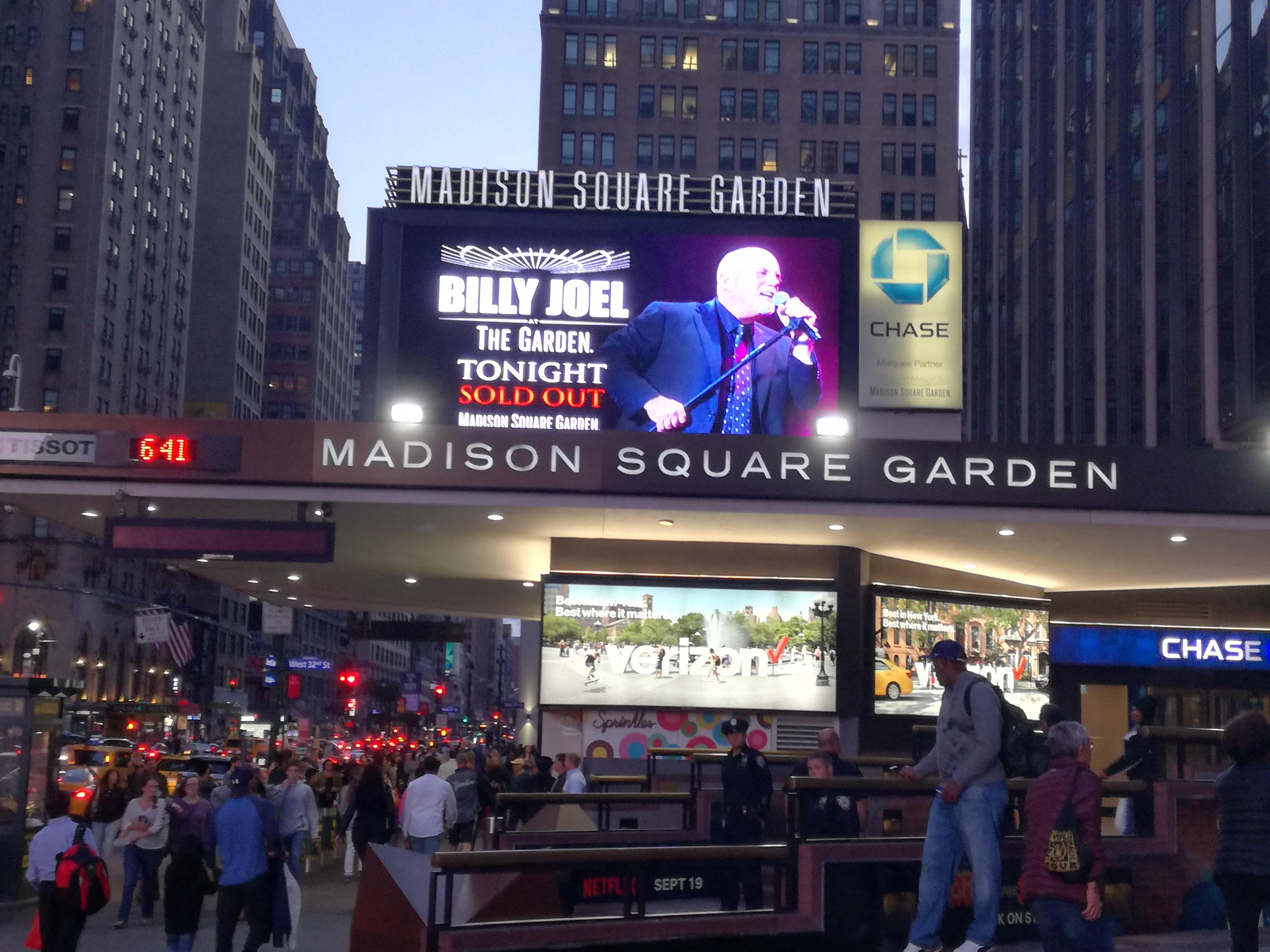 Billy joel at madison square garden september 30 2017 Billy joel madison square garden setlist